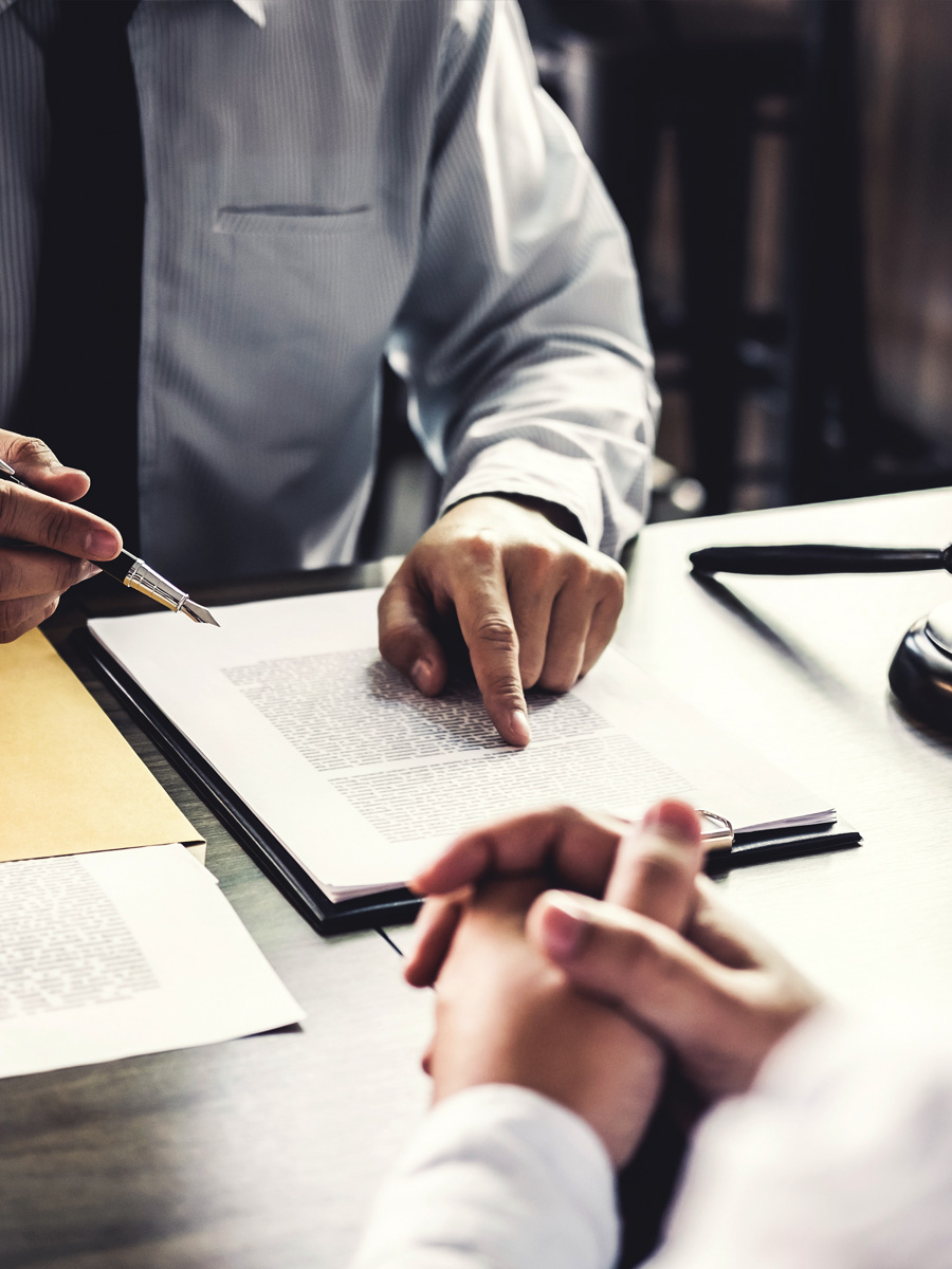 Contract negotiations and drafting services